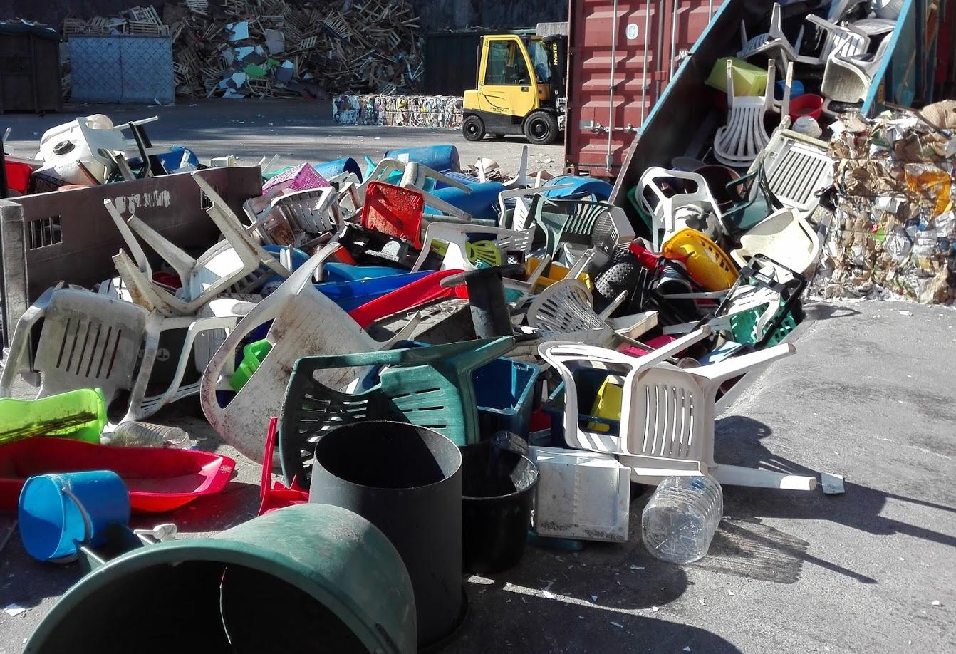 Vaikeasti paalattava kierrätysmateriaali